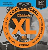 Best D'Addario Acoustic Bass Guitars - D'Addario EXP110 EXP Coated Nickel-Plated Steel Regular Light Review