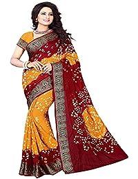 Dencraw Fashion Cotton Saree With Blouse Piece