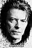 Notebook: David Bowie Was An English Singer Songwriter And Actor , Journal for Writing, College Ruled Size 6