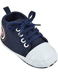 INSTABUYZ Newborn Baby Cotton Cute Anti-Collision Shoes(3-12 Months) - Denim
