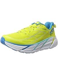 HOKA ONE ONE CLIFTON 3 JAUNE ET BLEUE Chaussures de running femme