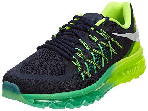 Nike Air Max 2015Damen, Herren Damen, Dark Obsidian/White-Volt-Menta (Air Für Nike Frauen 2015 Max)