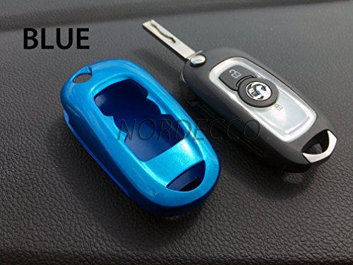 Preisvergleich Produktbild Hohe Qualität ABS-Hartschale Case Schlüsselanhänger Displayschutzfolie Cover Opel Vauxhall Mark 7Astra Design Elite Tech Line Energie Sri 20162017(blau)