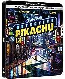 Pokémon-Détective Pikachu 4K Ultra HD [Boîtier SteelBook Limité] [Ultimate Edition - 4K Ultra HD + Blu-ray 3D + Blu-ray…