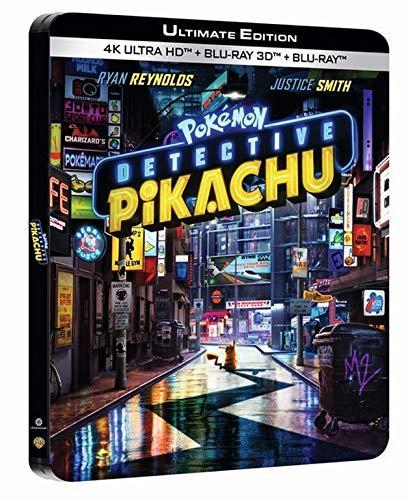 Pokémon détective Pikachu 4k ultra hd