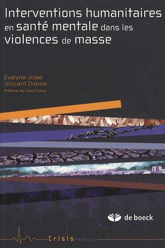 Interventions humanitaires en santé mentale dans les violences de masse
