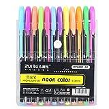 yuyoug Büro Schule 12Stück/Set Brilliant Farben Refills Marker Watercolor Gel Pen Textmarker Neon ersetzen Vorräte für Malen und Schreiben, Karte machen und DIY Fotoalbum