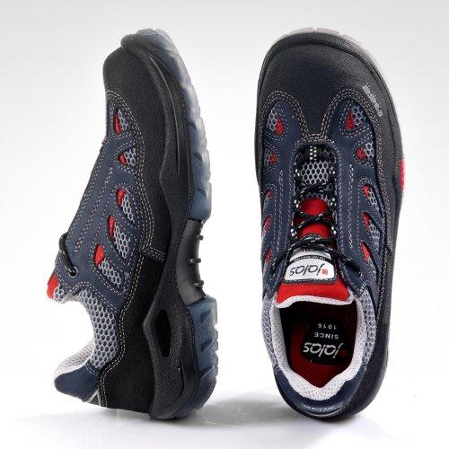 Ejendals 3700a-39Größe 99,1cm Jalas 3700A Ultima Respiro C Sicherheit Schuh–Schwarz/Blau/Grau