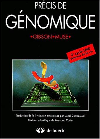 Précis de génomique par Greg Gibson