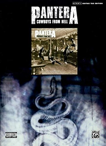 Pantera, Cowboys from Hell: Authentic Guitar Tab