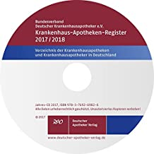 Krankenhaus-Apotheken-Register 2017/2018, CD-ROM Verzeichnis der Krankenhausapotheken und Krankenhausapotheker in Deutschland