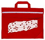 Mapac MP11310-RD Duo Music Bag with Motif - Red