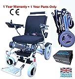 Powa9 Folding Electric Wheelchair Powerchair Mobility Travel Aid