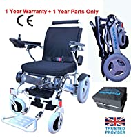 Powa9 Folding Electric Wheelchair Powerchair Mobility Travel Aid