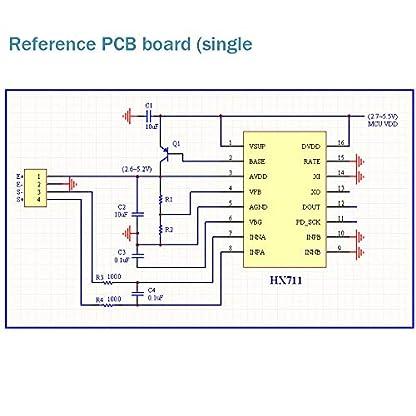 HX711-Gewicht-Sensor-Arduino-Modul-24-Bit-Przision-AD-Modul-Dual-Kanal-fr-Arduino-DIY