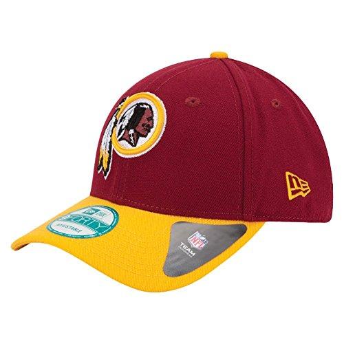 621fad00 New Era 9forty - Gorra con ajuste trasero, diseño de la liga NFL, Unisex,  Washington Redskins #2718, OSFM (One Size fits most)