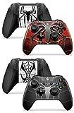 Gizmoz n Gadgetz 2 x Spiderman Xbox One X Controller Skins Full Wrap Vinyl Sticker