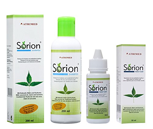 Sorion Shampoo und Sorion Head Fluid Set IT / ES
