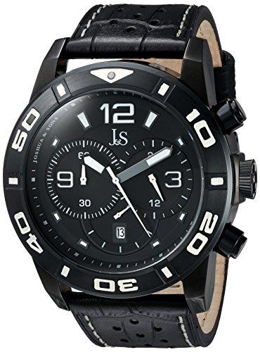 Joshua & Sons JS60BK - Reloj de pulsera hombre, color Negro