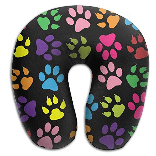 Bgejkos Multifunctional Neck Pillow Puppy Dogs U-Shaped Soft Pillows Portable 4