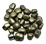 #2: Golden Pyrite Gemstone Tumble Crystal Healing Golden Pyrite 200 Grams