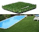 Künstliches Gras als Matte 40mm mit 2,5x2m für Boden
