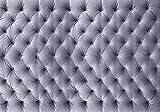 Fototapete Klassische Polsterung flieder Polster Samt S 200 x 140cm - 4 Teile Vlies Tapete Wandtapete - Moderne Vliestapete - Wandbilder - Design Wanddeko - Wand Dekoration wandmotiv24