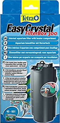 Tetra EasyCrystal 300 Aquarium Internal Filter for Crystal Clear, Healthy Water Inside the Fish Tank
