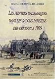 Les peintres britanniques dans les salons parisiens des origines à 1939 (1Cédérom)