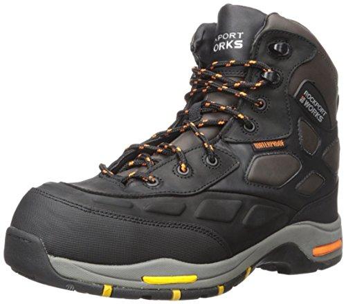 Rockport Work Men's Trail Technique Mid RK6671 Calzado industrial y de construcci¨®n, marr¨®n, 8 W US