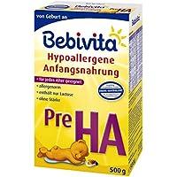 Bebivita Pre HA Hypoallergene Anfangsmilch, 1er Pack (1 x 500g)