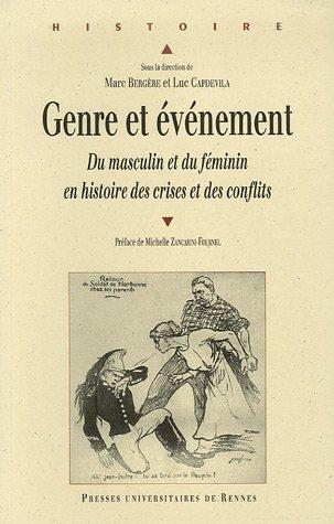 Genre et événement : Du masculin et du féminin en histoires des crises et des conflits