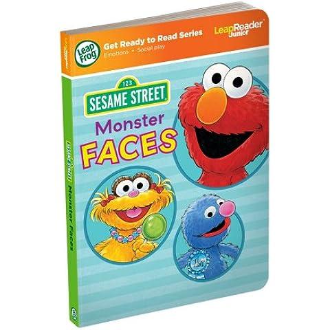 Barrio Sésamo - Tag Monster junior Caras libro (LeapFrog)