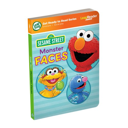 LeapFrog LeapReader/Tag Junior Livre : Sesame Street Monster Visages