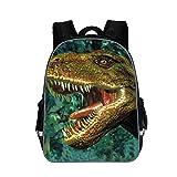 Moolecole Unisex 3D Tiere Print Daypack Dinosaurier Kinderrucksack - Best Reviews Guide