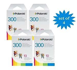 4er Pack Polaroid Instant Film PIF-300 Sofortbildfilm für die 300 Sofortbildkamera