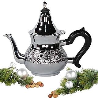 albena shop 73-106 Chaaya oriental teapot chrome 0,8 l