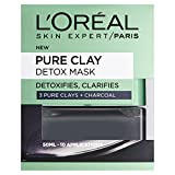 L'Oreal Paris 3 Pure Clays+Charcoal Detox Mask, 50ml