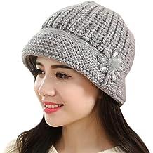 Culater® Donne Lady inverno Crochet caldo lavorato a maglia cappello della protezione