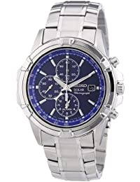 Seiko Men's Chronograph Quartz Watch with Stainless Steel Bracelet – SSC141P1