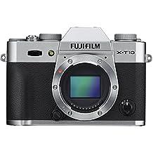 """Fujifilm X-T10 - Cuerpo de cámara EVIL de 16 MP (pantalla de 3"""", LCD, 1080 p FHD, CMOS II, montura X), color negro y plata"""