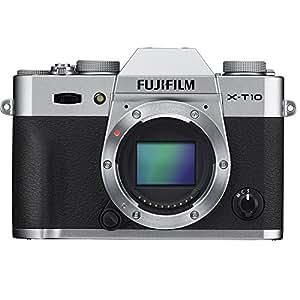 Fujifilm X-T10 Systemkamera Gehäuse silber