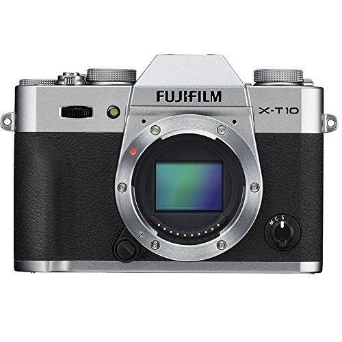 Fujifilm X-T10 Body Silver Fotocamera Digitale, Argento