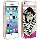 DC Comics Coque iPhone 5 / 5S / Se Coque Wonder Woman Protection Silicone Gel Souple...