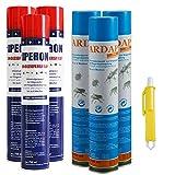Lyra Pet 3 x 750 ml IPERON + 3 x 750 ml Ardap Ungezieferspray + Zeckenzange