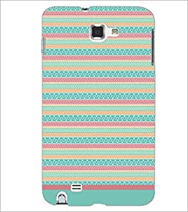 PrintDhaba Tribal pattern D-1794 Back Case Cover for SAMSUNG GALAXY NOTE 1 (Multi-Coloured)