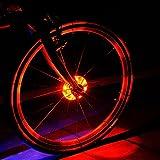 Fahrrad Rad Lichter, Fozela Wasserdichte Fahrradlichter Speichenlicht LED Fahrrad Lichter Licht Rad...