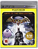 Batman Arkham Asylum Game Of The Year Edition Platinum (Sony PS3) [UK Import]