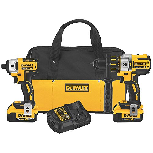 dewalt-dck296m2-20v-xr-lithium-ion-brushless-premium-hammerdrill-and-impact-driver-combo-kit-by-dewa