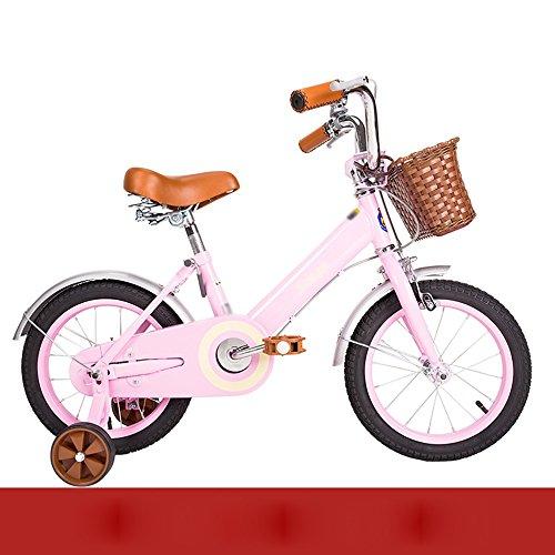 0aa1c278a9707 ZHIRONG Bicyclette Pour Enfants Bicyclette De Garçon Et Fille Avec Roue  D'entraînement 12 Pouces, 14 Pouces, 16 Pouces, 18 Pouces Les Cadeaux Des  Enfants ...